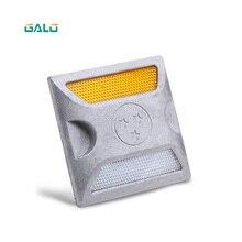 Алюминиевый Дорожный маркер для дорожного покрытия, коммерческий светоотражающий дорожный штифт, серебряный