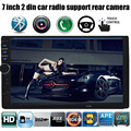 7 дюймов большой экран автомобиля MP5 2 DIN В Тире автомобиль радио функция bluetooth Видео Аудио Радио Авто Стерео в тире SD/USB