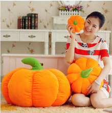Lovely Halloween Pumpkin Pillow Kawaii Plush Toy Doll Bed Pillow Creative Birthday Gift(China)