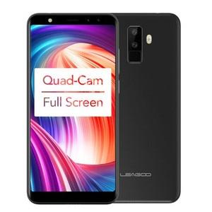 """Image 3 - Leagoo M9 5.5 """"18:9 Schermo Intero A quattro Camme Android 7.0 MT6580A Quad Core 2 GB di RAM 16 GB ROM 8.0MP di Impronte Digitali 3G WCDMA Del Telefono Mobile"""