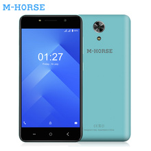 M-HORSE Power 1 5.0 Inch Smartphone 5050mAh OTG 1GB RAM 16GB ROM Android 7.0 Quad Core Telefon Celular 3G Unlocked Cell Phones