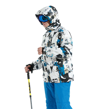 2019 Winter Brands Ski Jacket Men Outdoor Warm Thickened Waterproof Snow Snowboard Jackets Male Skiing And Snowboarding Clothes 1