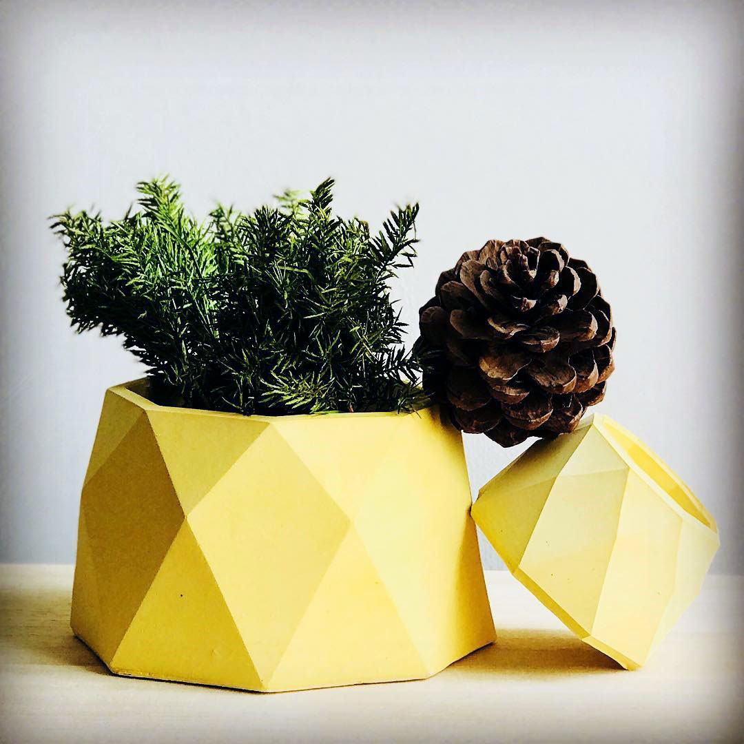 Silicone Molds For Concrete Planter Cement Flower Pot Molds Candle Holder Silicone Concrete Molds Plaster Gypsum Molds