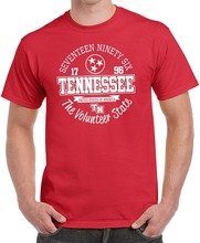 Fashion T Shirt Free Shipping MenS Short Sleeve Tennessee State Crew Neck Shirts