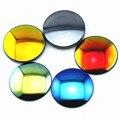 Novos itens de marca de alto grau de resina CR-39 lentes polarizadas miopia polarizada óculos de sol-lente espelho colorido personalizado (um par preço)