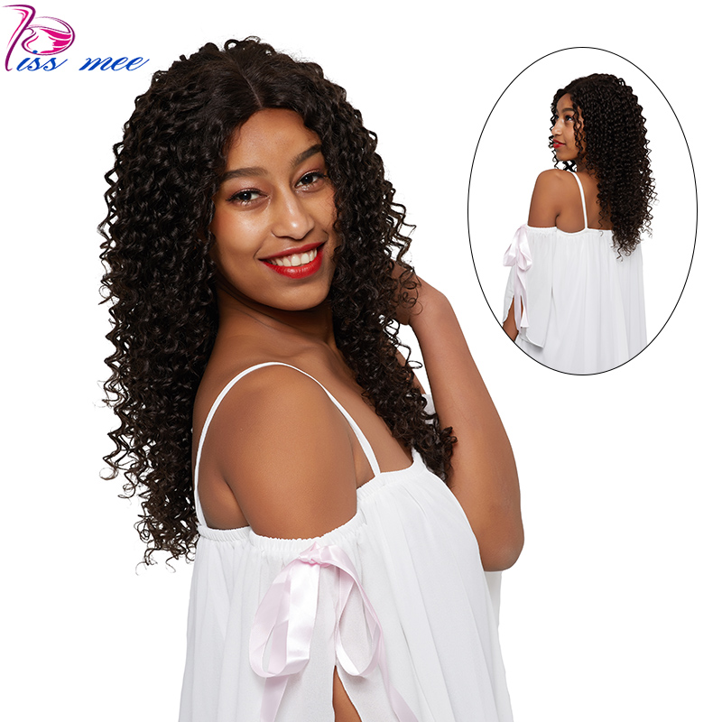 KISSMEE Deep Wave Lace Front Human Hair Wigs For Women Pre Plucked Hairline With Baby Hair 10-32Inch Brazilian Wigs Remy Hair #2