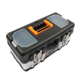 Portable Large stainless steel toolbox household maintenance electrician plastic Tool Box Z0103 Multifunctional set