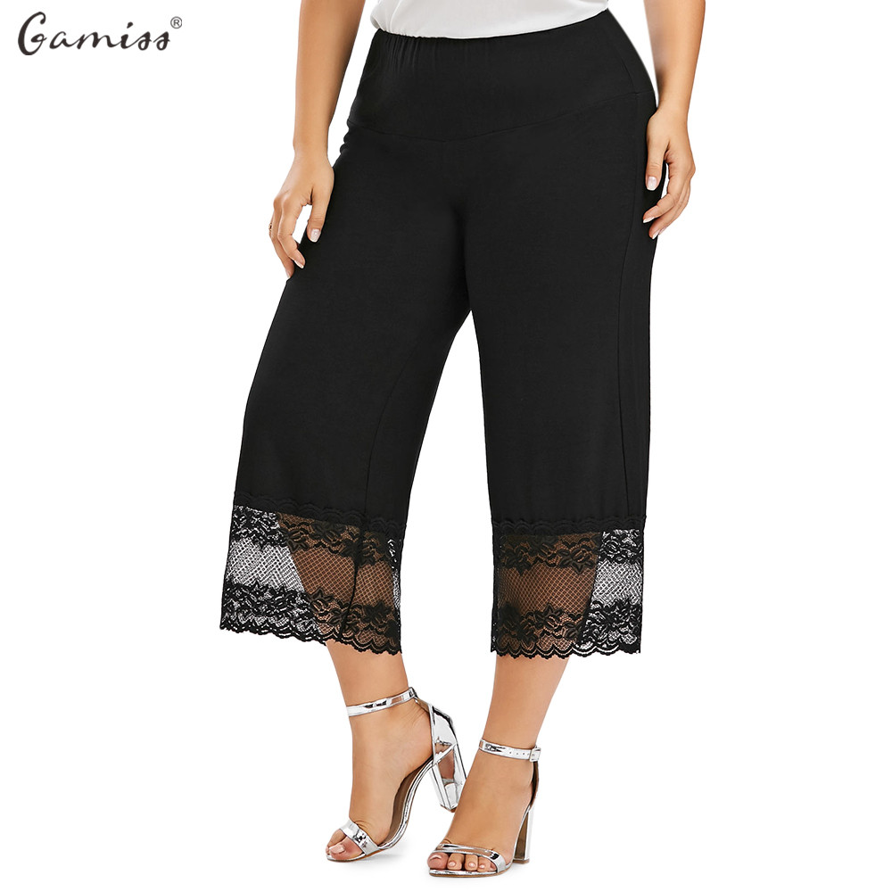 Online Get Cheap Plus Size Wide Leg Capris -Aliexpress.com ...