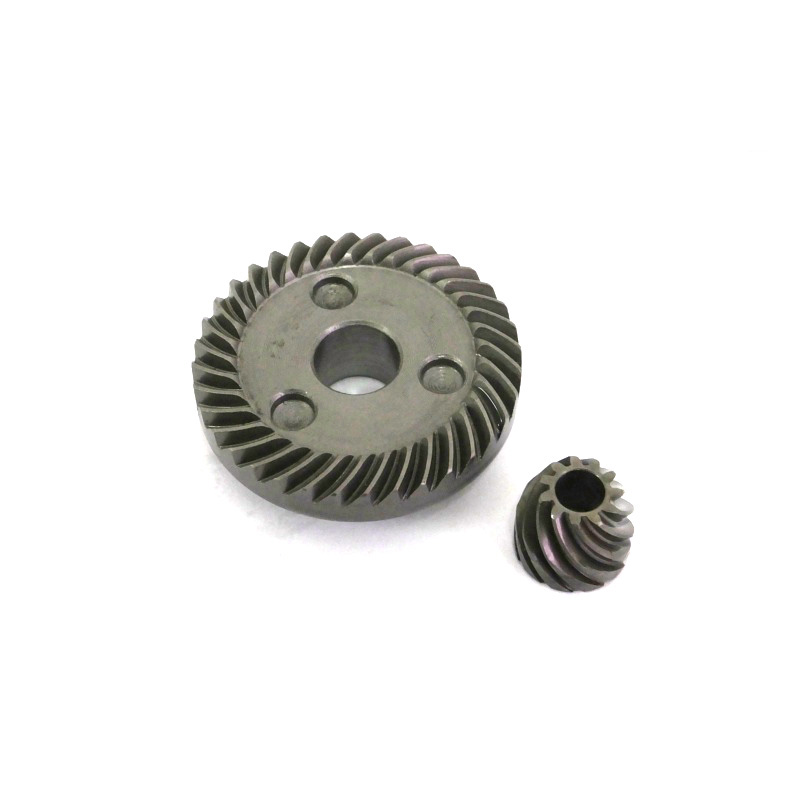 Electric Power Tool Spiral Bevel Gear Set for Makita 9523 Angle Grinder electric spiral bevel ring pinion angle grinder gear set for hitachi 100