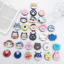 3D Cute Cartoon Dog Cat Bear Rabbit Foldable Mobile Phone Grip Stand Holders For Smartphon