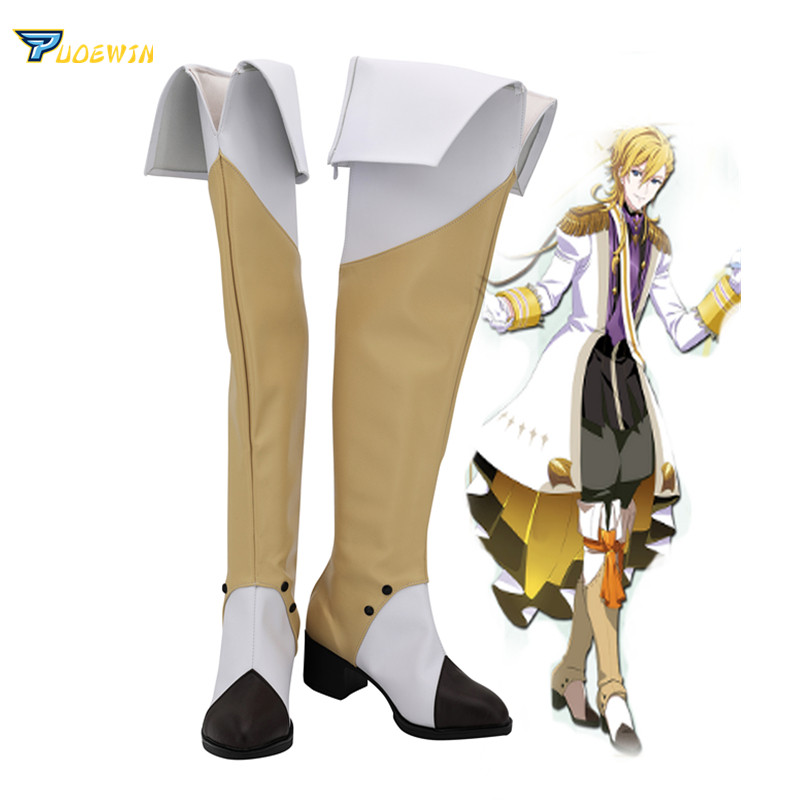 IDOLiSH7 Merchen Dream Version Rokuya Nagi Cosplay Boots Shoes