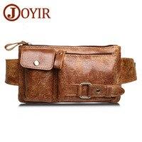 Brand Genuine Leather Men Waist Packs Travel Chest Bag Unisex Belt Bag Men Money Belt Waist Bag Bum Bag Fanny Pack for Women