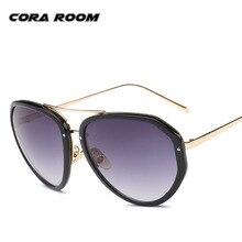 2017 gafas de Sol de Moda Para Las Mujeres Diseñador de la Marca Gafas de Sol de Las Señoras Capa de Espejo UV400 Shades Gafas Mujer Gafas