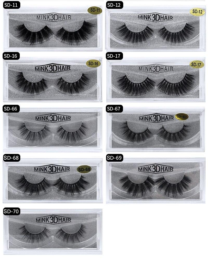 Mangodot Mink Eyelashes 3d Lashes Thick Handmade Cilios Eyelash High Quality Maquiagem Luxury Mink Lashes Volume False Eyelashes High Quality And Inexpensive Beauty & Health