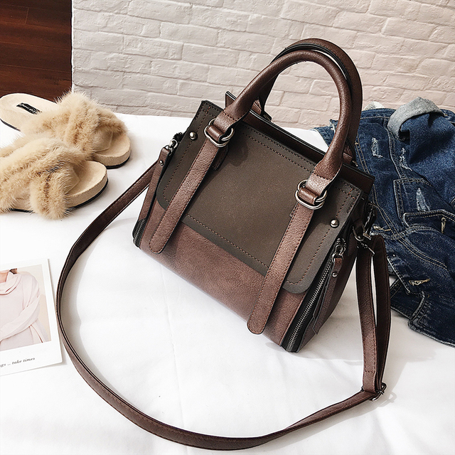 LEFTSIDE Vintage New Handbags For Women 2019 Female Brand Leather Handbag High Quality Small Bags Lady Shoulder Bags Casual 2