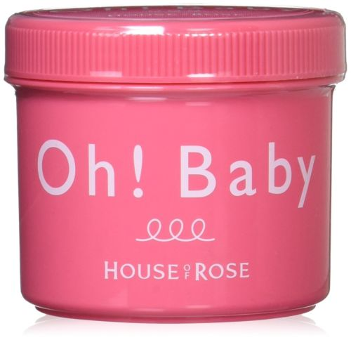 HOUSE OF ROSE Oh Baby Body Smoother 570g Body Scrubs Massage Body Care JAPAN kustie body care body wash nature floral petals rose shower