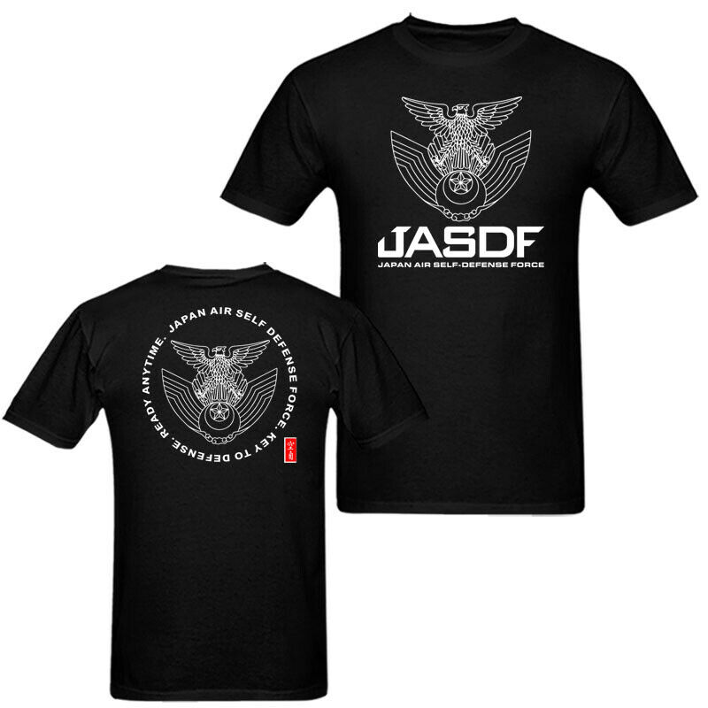 2019 Fashion Double Side Jasdf Japan Air Force Men'S T Shirt Usa Unisex Tee