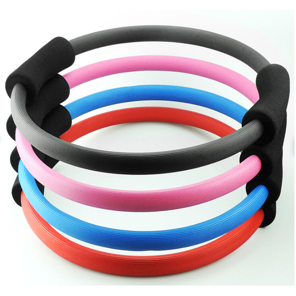 Pilates Yoga Rings Sport Fitness Magic Resistance Ring Circle for Women Yoga Fitness Exercise Tools