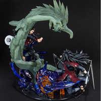 Anime Naruto Shippuden Susanoo Uchiha Madara madera dragón Senju hashitama PVC figura de acción coleccionable modelo juguetes para regalo