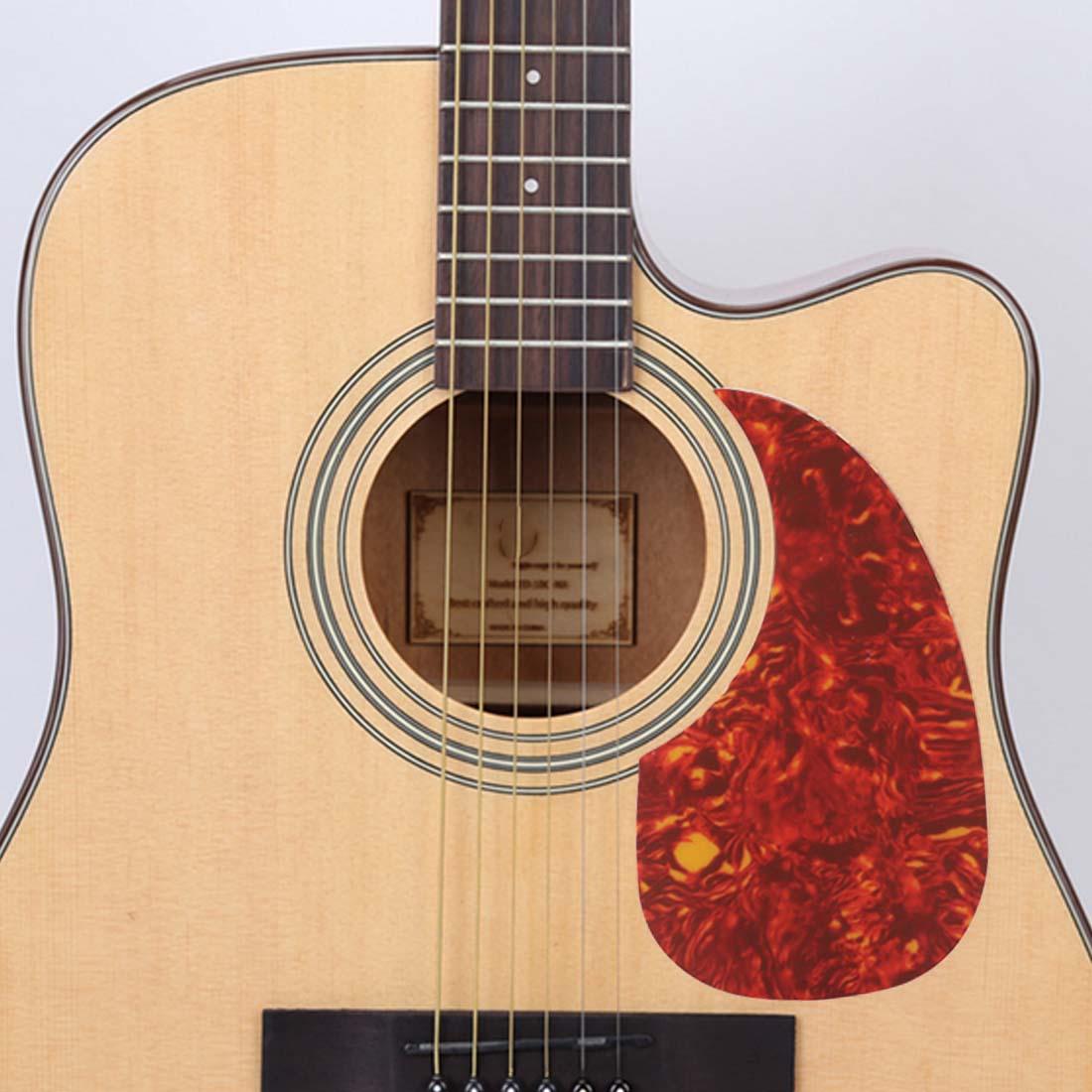 acoustic guitar pick guard sticker. Black Bedroom Furniture Sets. Home Design Ideas