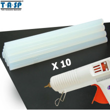TASP 10pcs 11mm Translucent Hot Melt Glue Sticks For Silicon Gun & Repair Tools