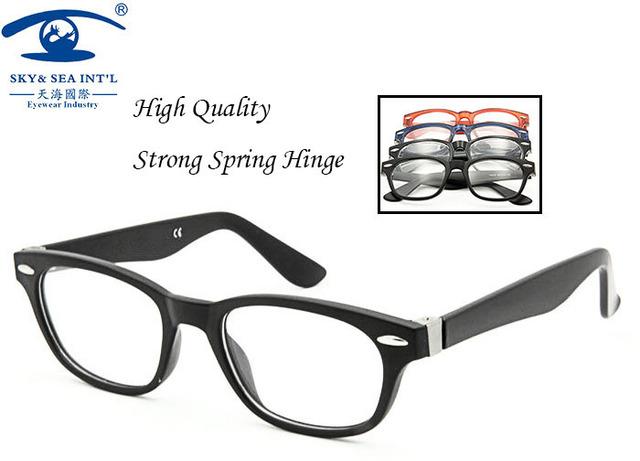 Novos de Design itália dobradiça de mola mulheres óculos de prescrição homens armações de óculos óculos vidros ópticos