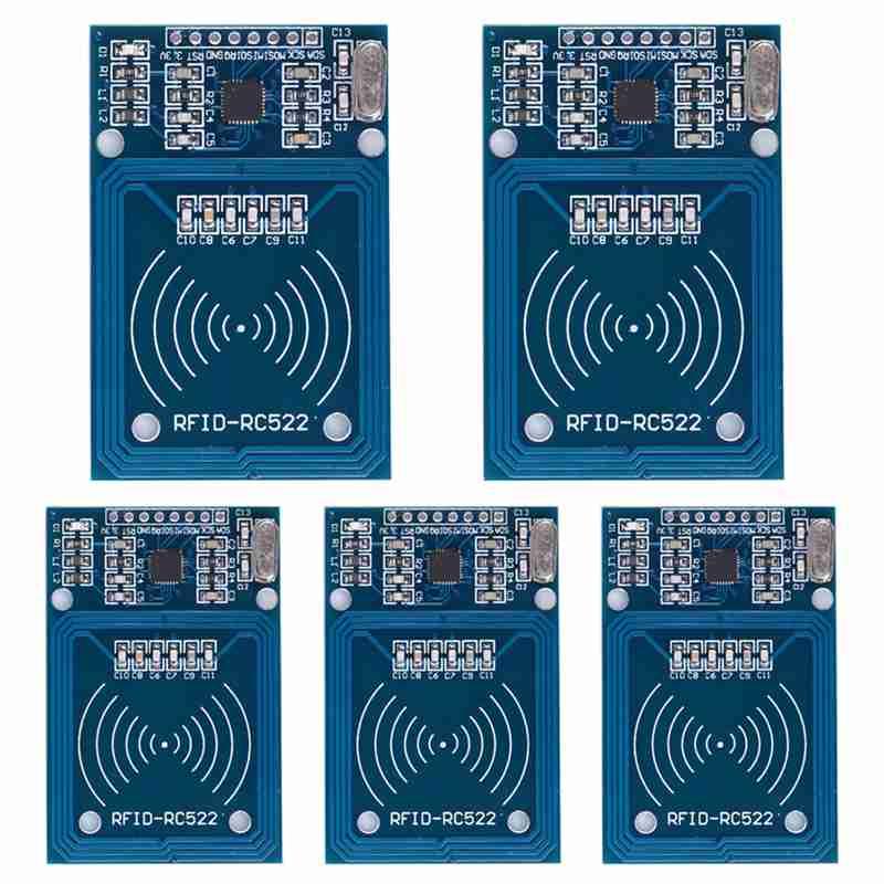 5pcs/lot MFRC-522 RC522 RFID RF IC card sensor module to send Fudan card,Rf module keychain Hot sale фен redmond rf 522 rf 522