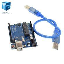 Smart Electronics UNO R3 Mega328P ATMEGA16U2 Development Board with USB Cable for arduino Diy Starter Kit
