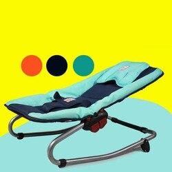 مناسبة و آمنة الكراسي الرضع بيبي استرضاء كرسي هزاز الطفل لطيف الحراس ثلاث نقاط أحزمة الأمان الحرة وانخفاض الشحن
