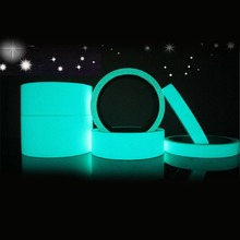 Self-adhesive Warning Tape Home Decoration Luminous Tapes Roll Luminous Tap Night Vision Glow In Dark Safety Security drop(China)