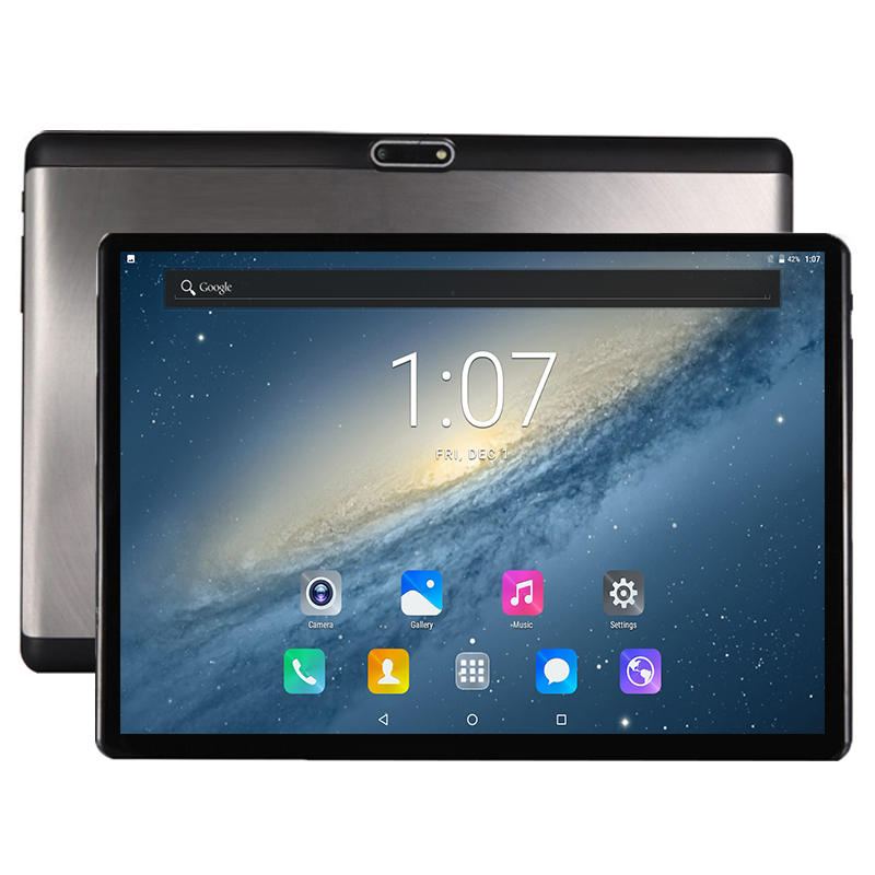 2019 New 2.5D Tempered Glass 10 inch Deca Core 4G FDD LTE Tablet pc 4GB RAM 128GB ROM 1920*1200 Android 7.0 Tablet 10.1+Gifts(China)