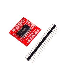Image 1 - 10 PCS/LOT PCF8575 IIC I2C Module de blindage dextension i/o 16 bits SMBus ports i/o nouveau