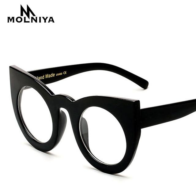 2017 Fashion Women Brand Designer Cat Eye Glasses Frame Women Eyeglasses  Frames High Quality Computer Vintage Optics Frame -in Eyewear Frames from  ...