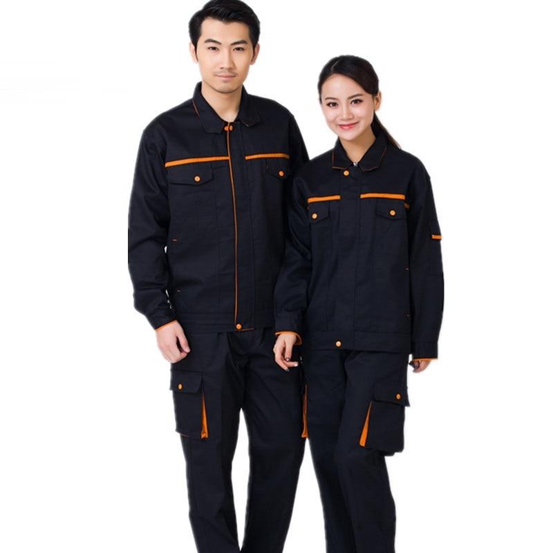 Aspiring Worker Clothing Workwear Clothes Set Men Women Workmen Factory Uniform Wear-resistant Repairman Auto Car Workshop Welding Suits Wide Varieties Back To Search Resultshome