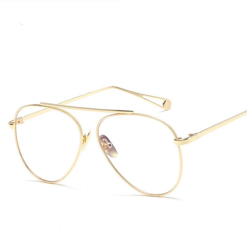 Haute qualité optique pilote cadre ordinateur lunettes femmes Anti rayonnement lunettes pour homme rétro lunettes hommes Oculos