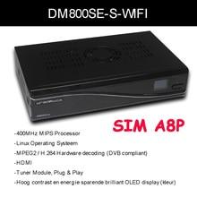 2016 Mejor Modelo wifi DM800SE PVR HD TV Receptor de Satélite dreambox800hd DM800 sí CON SIM A8P REV D11 motherboard SSL84