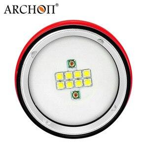 Image 5 - ไฟฉายดำน้ำ ARCHON D26VR W32R 2000LM สีขาวสีแดง Video Light การถ่ายภาพไฟฉายใต้น้ำ Light ไม่มีแบตเตอรี่