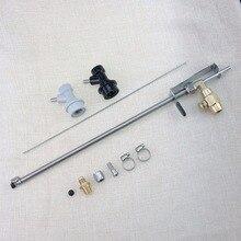Nouveau pistolet pour remplissage de bouteille de bière en acier inoxydable, pistolet pour le remplissage de bière en CO2, avec serrures à billes, pour le brassage à domicile