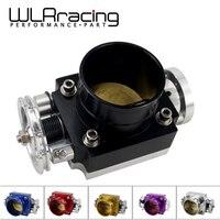 Wlr racing-corpo do acelerador universal 80mm desempenho do corpo do acelerador coletor de admissão boleto de alumínio alto fluxo wlr6980