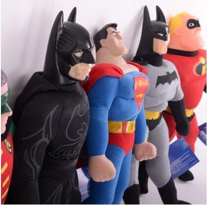 "ФОТО 1pcs 8"" 25cm wholesale best-selling the avengers toy spiderman, batman superman high quality plush toy children"