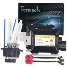 Kit de farol xenon ac 35w d2s, lâmpada para carro, hid, balastro, 4300k, 6000k, 8000k, xenon, d2s luz do carro d2r 12v