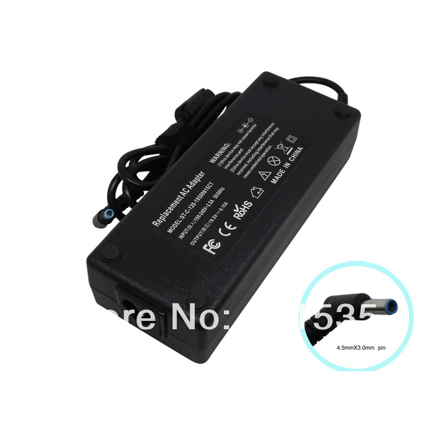 120W AC Adapter Charger for HP Envy TouchSmart 17-j000 17-j100 17t-j100 17z-j100 Serise 4.5mm/3.0mm