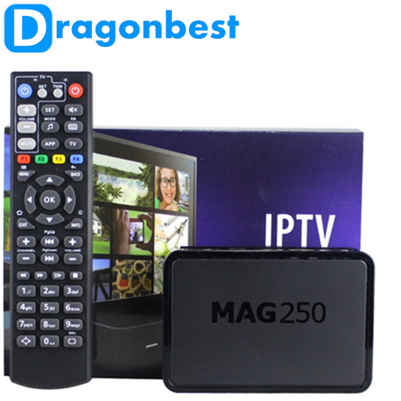 ФОТО best goods best goods 1pcs Mag250 Linux 2.6.23 System IPTV Set Top Box Processor STi7105 RAM 256 Mb MAG 250 iptv box Free sh