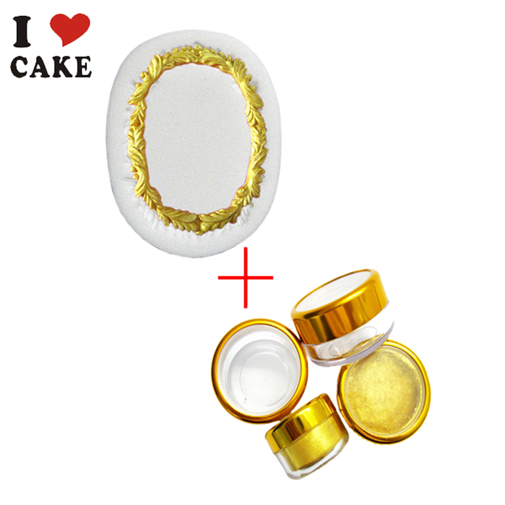Italy GOlD Food coloring for cake and Silicone Fondant Cake Decorating  Tools Golden sugar natural pigment pearlizing coating