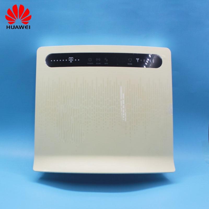 Débloqué utilisé routeur sans fil Huawei B593 B593s-12 B593u-12 avec antenne 4G LTE WiFi Hotspot routeur avec carte SIM PKB315