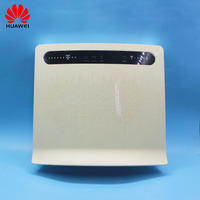 Unlocked Used Huawei Wireless Router B593 B593s 12 B593u 12 with Antenna 4G LTE WiFi Hotspot Router with SIM Card PKB315