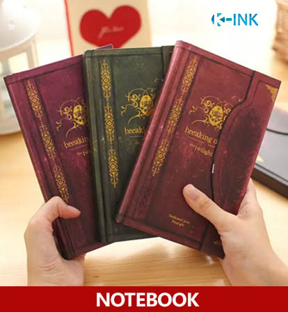 Notebook for The Twilight Saga , Breaking Dawn Theme Notebook as Diary Memo Book