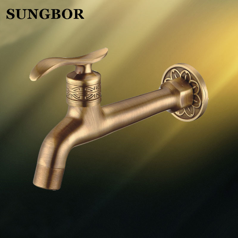 Br Single Handle Kitchen Faucet Wall
