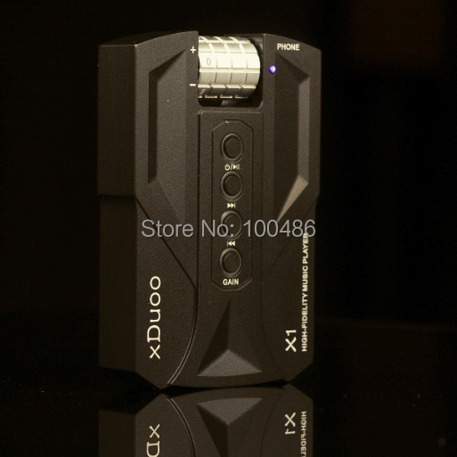 100 Original xDuoo X1 8GB WAV APE FLAC Mini Pocket 300ohm High Power HiFi font b