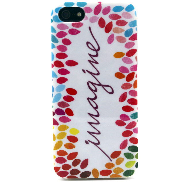 For iphone SE Flower Cartoon Pattern Rubber TPU Soft Cover For Apple iphone 5/5S